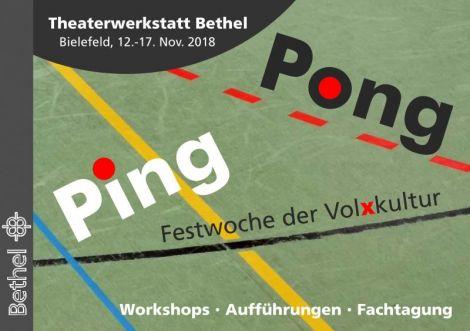 Ping Pong Festwoche der Volxkultur in Bielefeld