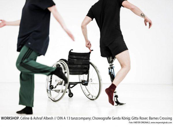 DIN A13: M.A.D.E. – MIXED-ABLED DANCE EDUCATION | Weiterbildungsprogramm